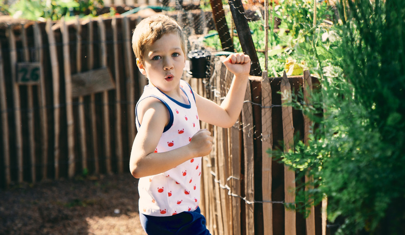 Froy & Dind SS20 – boys blue polo
