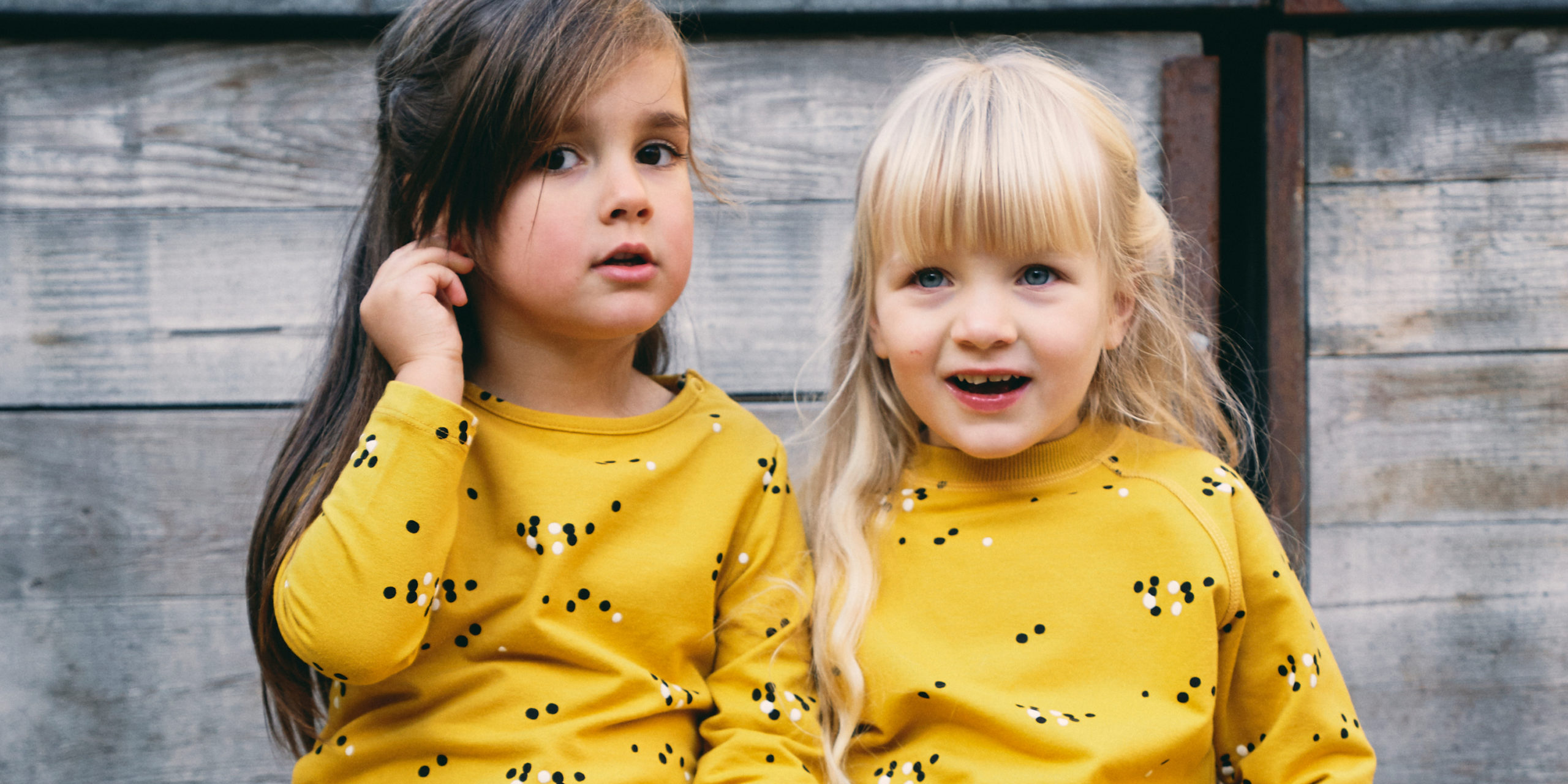 Froy & Dind AW20  kids dots yellow